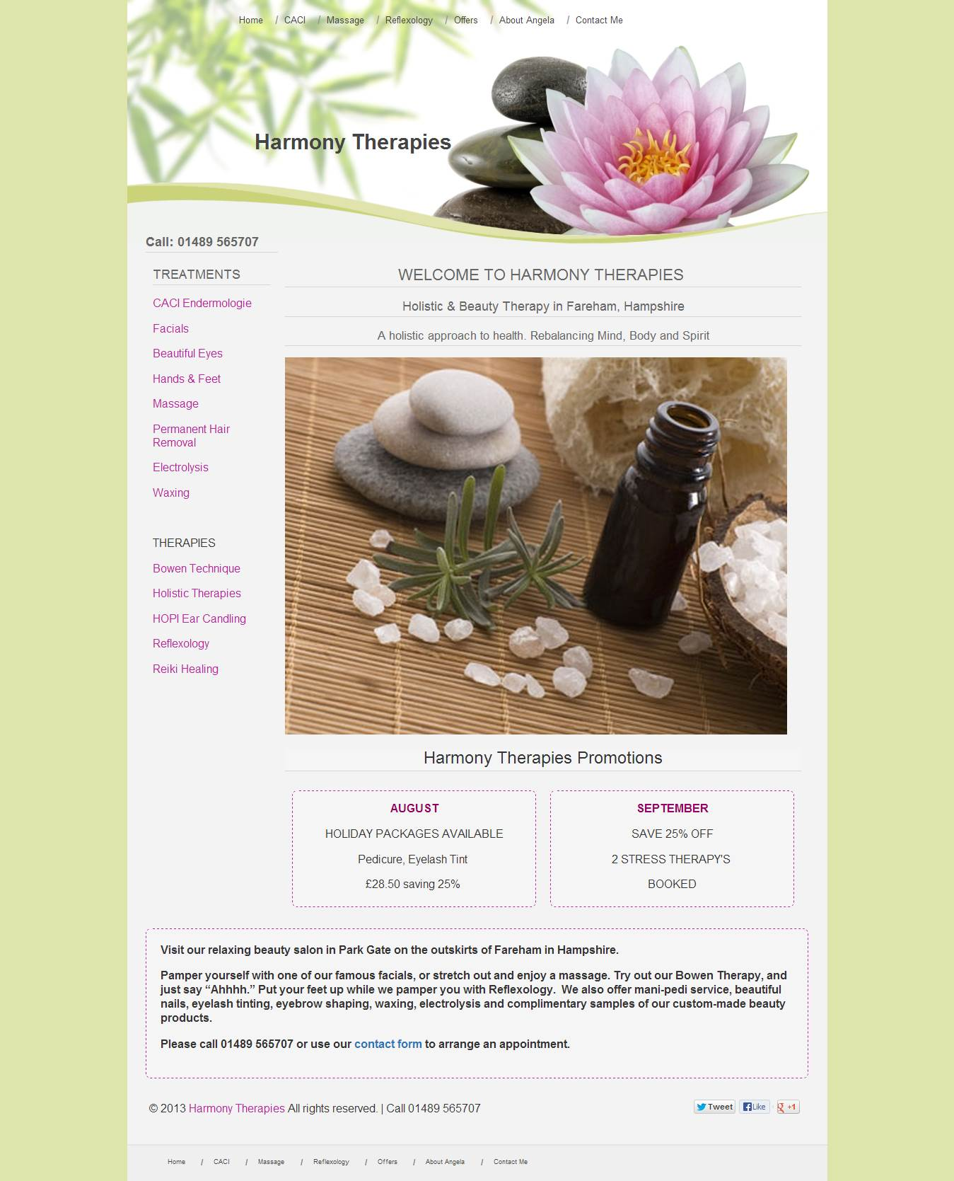Harmony Therapies