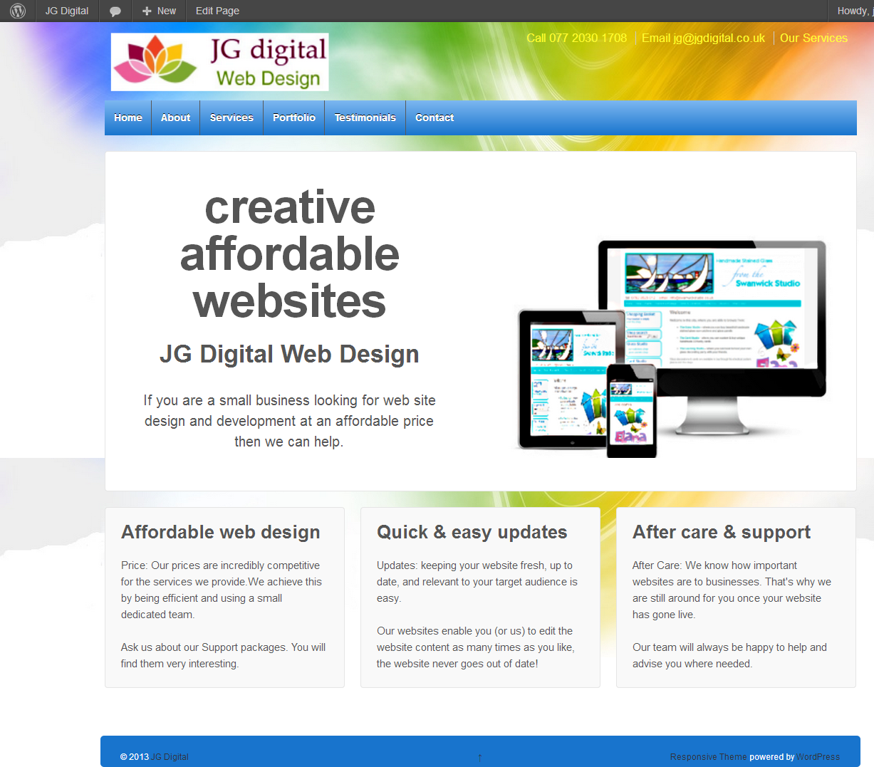 JG Digital - Web Design Hampshire