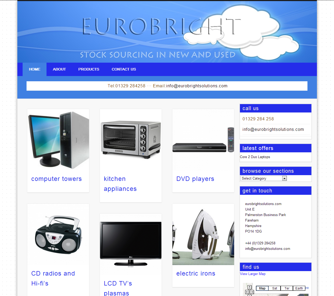 eurobrightsolutions.com » Stock sourcing in new and used